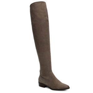 NWT Aldo Chiverini Flat Over- the-Knee Boots